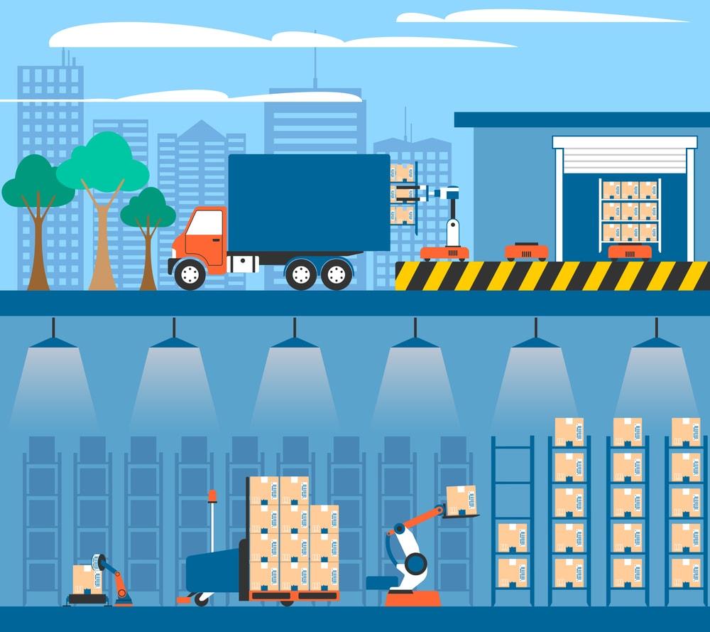 7 benefícios da automação logística para a sua empresa